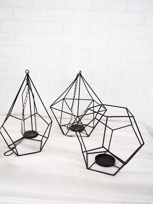 Black HangingGeo Frames