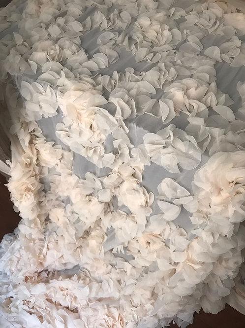 3D Petals Chiffon