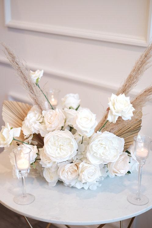 Princess White (Silk Floral)