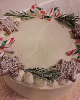Christmas Spiced Sponge Cake