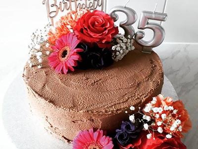 Chocolate and Nutella Cake