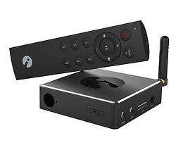 IEast Stream Pro M30 vil forvandle og utvide ditteksisterende høyttalersystem (Hi-Fi, Soundbar, hjemmekino, stereo osv.) Til en funksjonell og kraftig trådløs lydløsningsløsning.