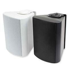 COD-401 utendørshøyttalere i sort og hvitt