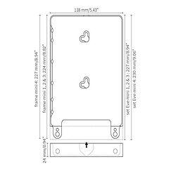 iPad docking Eve mini for iPad mini1-4 fra Basalte
