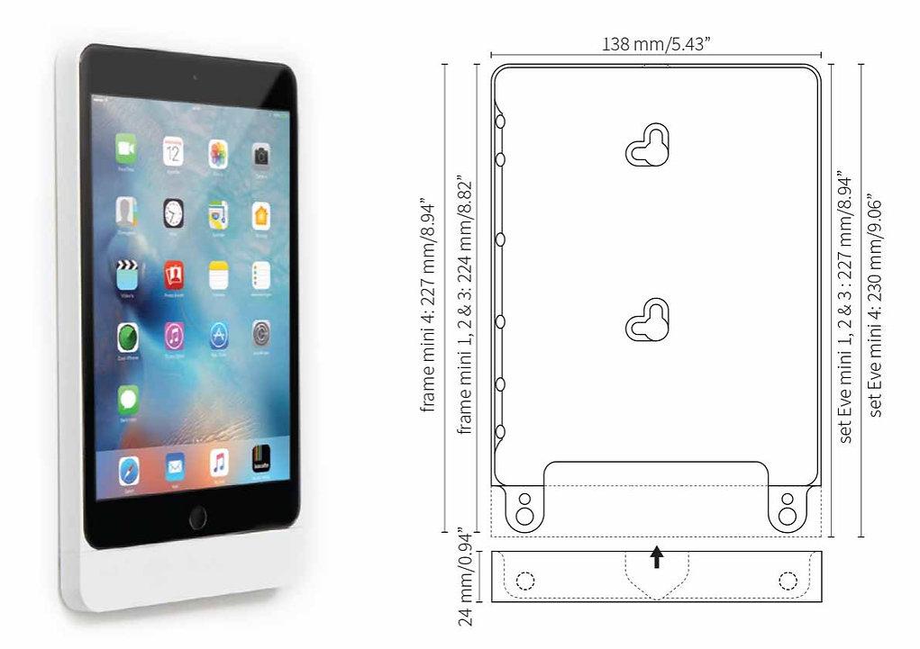 Eve mini for iPad mini 1, 2 & iPad mini 4 fra Basalte
