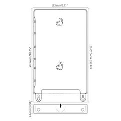 iPad docking Eve 9.7 for iPad Air 1&2 fra Basalte