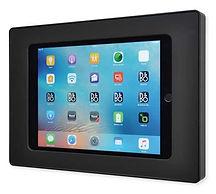 SurDock iPad Docking i sort liggende format fra IRoom