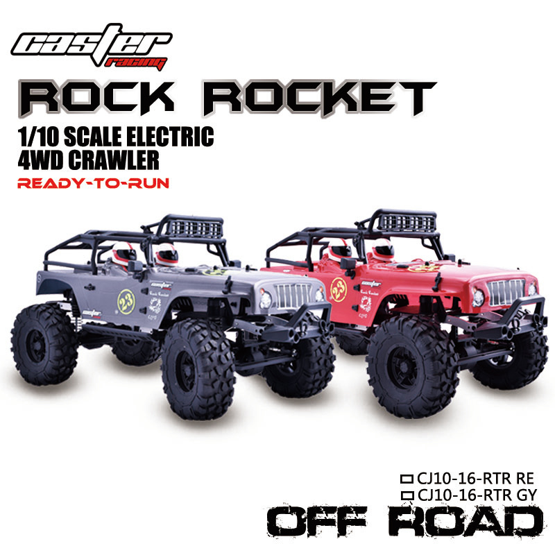 CJ10 Rock Rocket Crawler