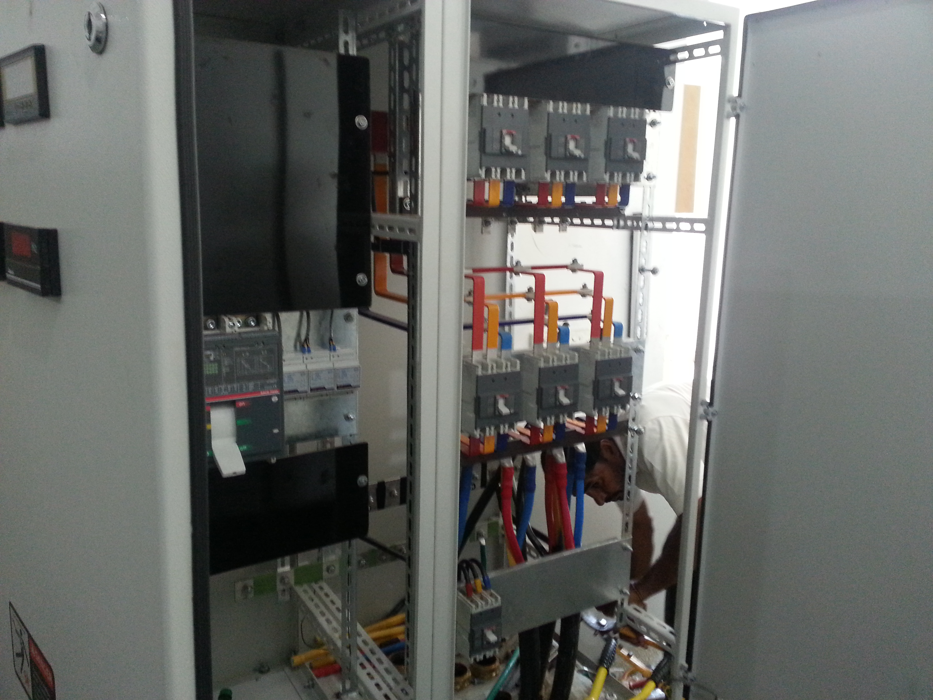 The Electrical Panel in power House