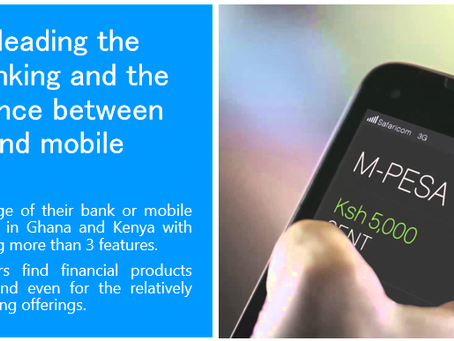 Is Telco (Mobile) and bank (Banking) convergence happening in Africa?