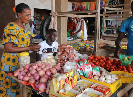 Consumer confidence rose ahead of the holiday shopping in Africa