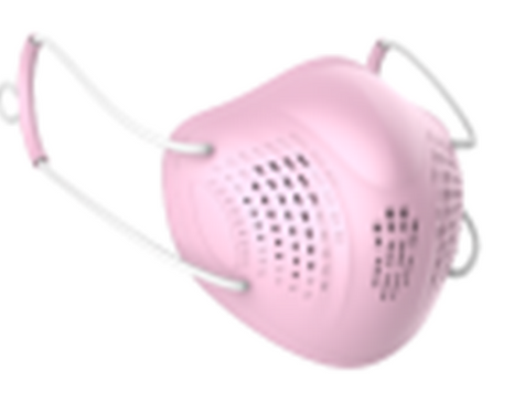 REM1002 - Linkyooo - Mask w Changeable Filter - Model A8 - Pink