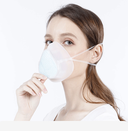 REM1004 - Lezheng Technology - Respirator With Changeable Filter - S9
