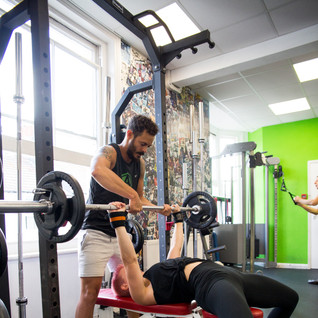Training at Alive Gym