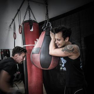 Boxing training