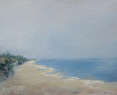 Playa de Santa Catalina (Vistahermosa) óleo s lienzo 80x1m.jpg