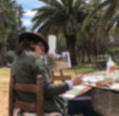 Cursos de pintura al aire libre