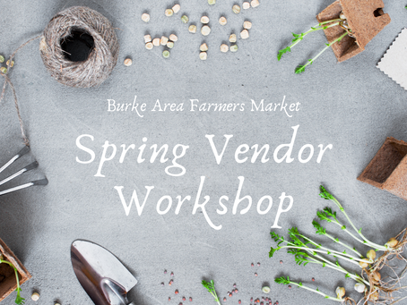 Join the local farmers market as a vendor