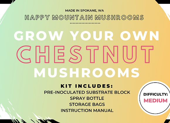 Grow Your Own Mushroom Kit - Chesnut