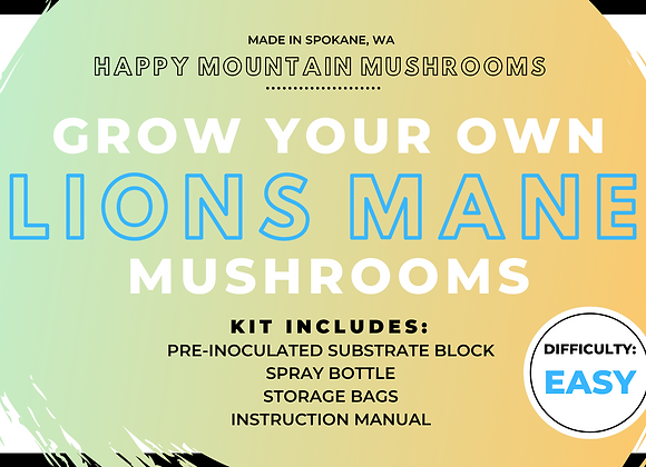 Grow Your Own Mushroom Kit - Lion's Mane