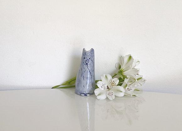 Cat Bud Vase