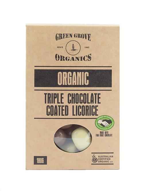 Triple Chocolate Coated Licorice
