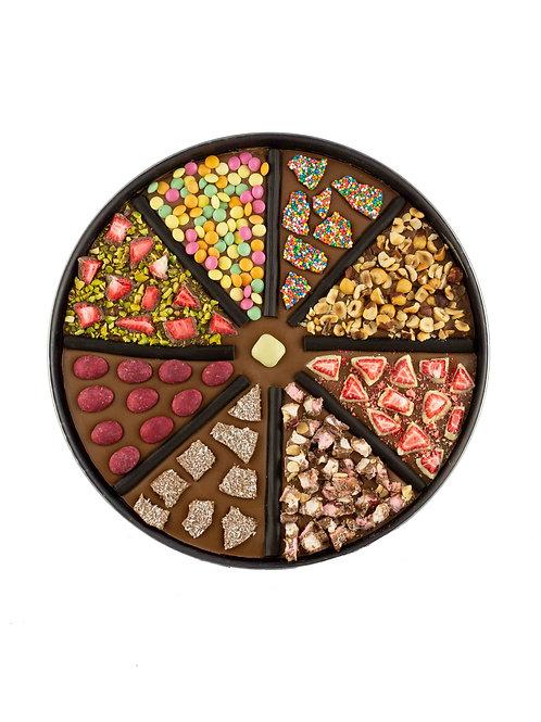 Chocolate Pizza Wheel