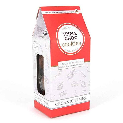 Triple Choc Cookies