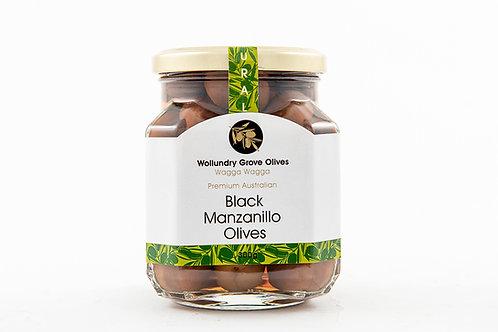 Black Manzanillo Olives