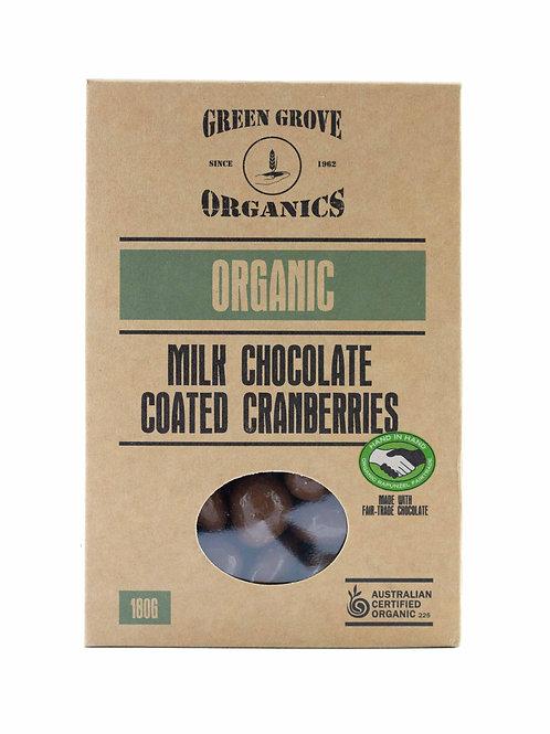 Milk Chocolate Cranberries