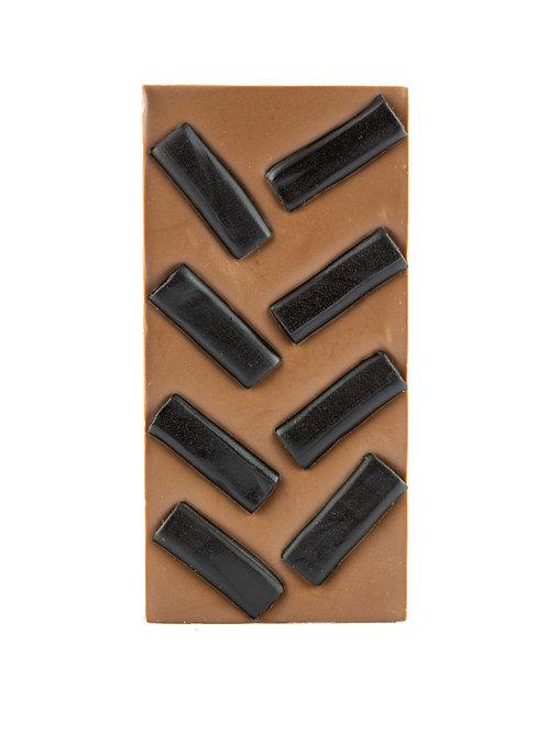 Black Licorice Chocolate Block