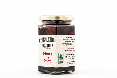 Plums in Port