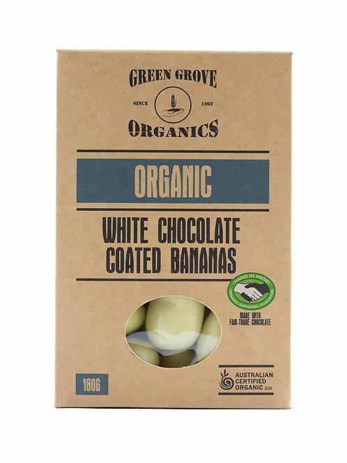 White Chocolate Bananas