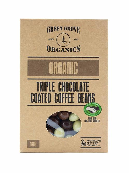 Triple Chocolate Coffee Beans