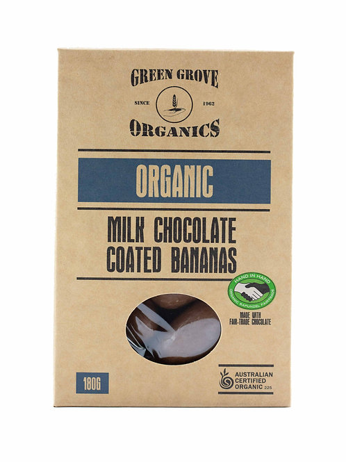 Milk Chocolate Bananas