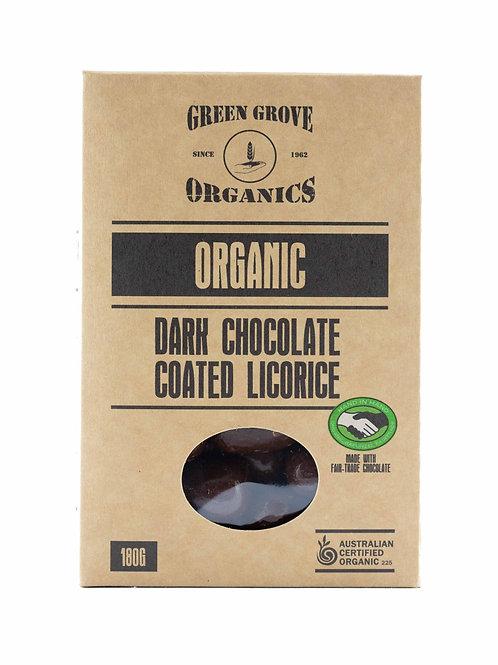 Dark Chocolate Coated Licorice