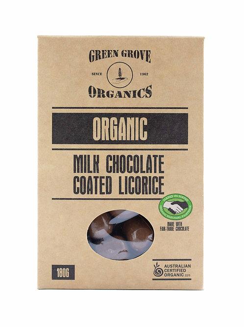 Milk Chocolate Coated Licorice
