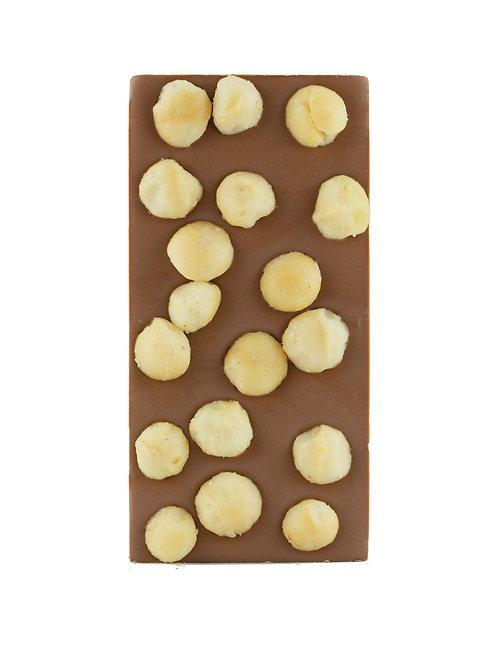 Milk Chocolate Macadamia Block