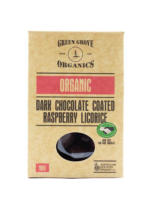 Dark Chocolate Raspberry Licorice