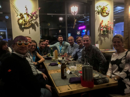 Christmas Party #1 - Giggling Squid Wokingham