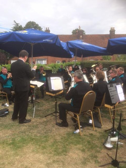 Brass Band in the Gardens