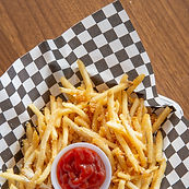 Garlic Butter Salt Fries