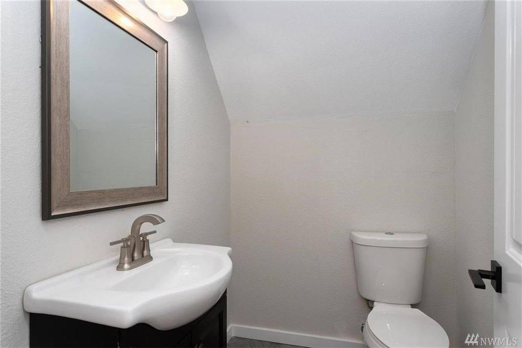 Bathroom above garage.