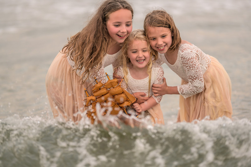 Daisy, Meadow and Xanthe