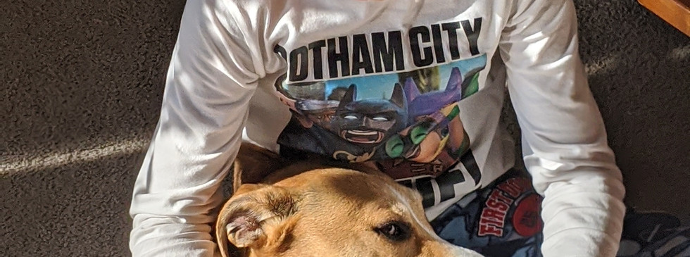 Reading Doggo and His Boy