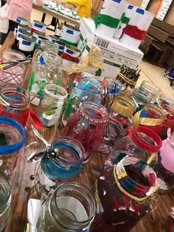 Craft Fair - Decorative Jars