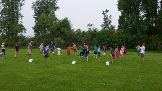 PE Play Day - Relay Race