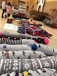 Craft Fair - Sock Snakes
