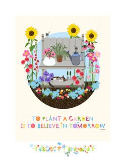 Gardening Journal Cover