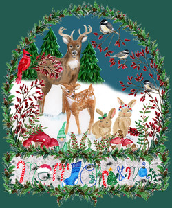 Woodland Christmas_janet nimiroski